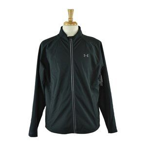 Under Armour Track Jackets LG Black